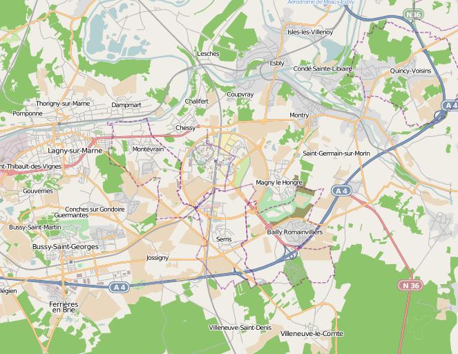 Mobile Streetmaps Com Disney Paris