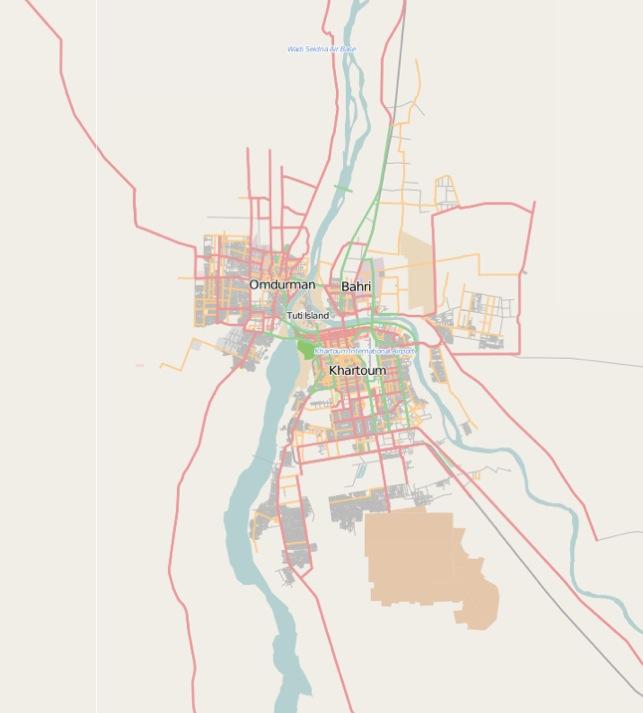 MobileStreetmapscom Omdurman Khartoum